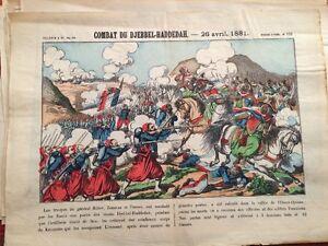 Combat Du Djebbel-Haddedah - 26 Avril 1881.IMAGE D'ÉPINAL.