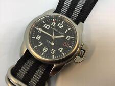 HAMILTON KHAKI FIELD 6309 Large SS Quartz 44MM Watch XLT COND!!!