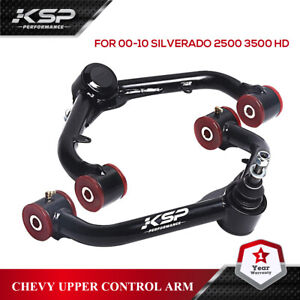 "Upper Control Arms For 2-4"" Lift Kit For 2001-2010 Chevy Silverado GMC Sierra HD"