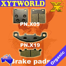 Front Rear Brake Pads for HYOSUNG Comet 250 2002