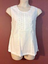 EQUINOX brand size 18 sleeveless cotton/linen plus size top RRP $59.95