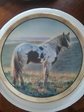 Horse Plate, First Light, Wild and Free, Danbury Mint