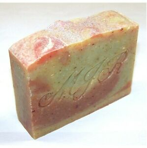 Apple Jack n' Peel Oat & Flax Goat Milk Soap-PALM FREE, Naturals by MJR Soaps