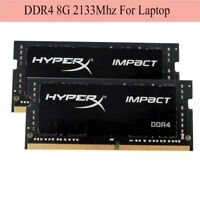 Para Kingston HyperX Impact 8GB 16GB 32GB DDR4-2133Mhz PC4-17000 Laptop RAM ES