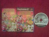 CARTOON KINGDOM ORIGINAL BLACK LABEL SONY PLAYSTATION 2 PS2 PAL