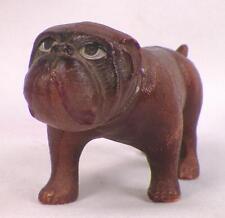 Vintage Bulldog Mastiff Celluloid Toy Christmas Putz Train Display #54 Usa