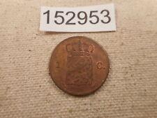 1873 Netherlands 1 Cent Very Nice Collector Higher Grade Album Coin - # 152953