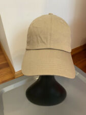 ETHOS Beige Baseball Cap StrapBack 100% Cotton One Size