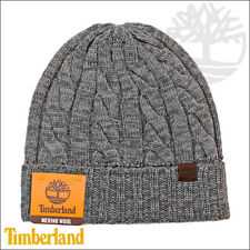 245a0005d24 Timberland Unisex Knit Cap Cable Merino Wool One Size.