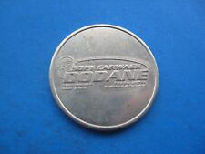 (28C5) DODANE SOFT CAR WASH  SILVER COLOURED TOKEN COIN