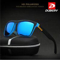 DUBERY Polarized Sunglasses Men Square Sport Driving Fishing Glasses UV400