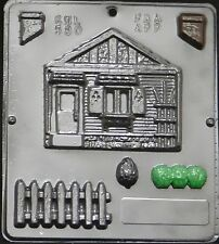 House Assembly #1 of 2 Chocolate Candy Mold  580 NEW