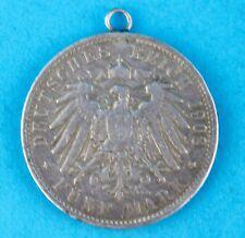 """5 Mark 1908  Silbermünze """" Freie und Hansestadt Hamburg """" Jäger J. 65"""