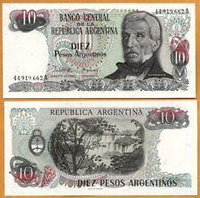 Argentina, 1983-1984,  UNC, 10 Pesos Argentinos, P- 313a(1)