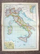 1902  Map of Italy