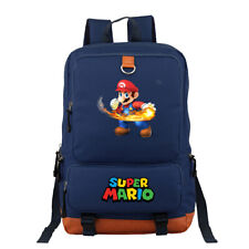 Super Mario canvas SPport bags Teenagers Backpack School bag travel laptop bags