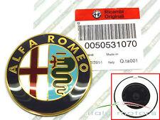 Alfa Romeo 4C original Emblem Kühlergrill Heck vorne + hinten 50531070 NEU
