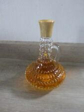 ancien flacon parfum eau de cologne belle bouteille modele deposé vintage