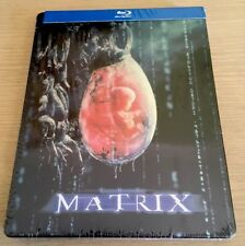 The Matrix Blu-ray Steelbook 10th Anniversary Ediiton New & Sealed All Regions