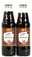 2 Bottles Jelly Belly 16 Oz Root Beer Syrup For Ice Treats Best By 4/2022
