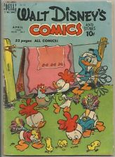 Walt Disney's Comics and Stories Vol. 10#7 (115) (April 1950, Dell)