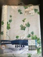 Store Tente Da sole Lierre verde150x300 CM Avec Crochets 100% Coton Opaque