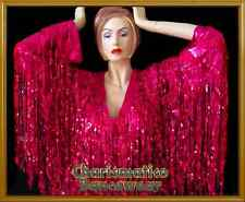 PINK THEATRE Fringe SEQUIN Drag Dance Costume DRESS