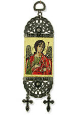 """Saint Michael Icon Tapestry Textile Art 7""""x2""""icon decoration door wall"""