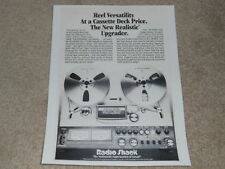 Realistic TR-3000 Open Reel Ad, 1981, Article, 1 pg