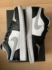 Nike Air Jordan 1 Low GS Shadow Black Light Smoke Grey UK 6 EU 40 US 7Y New