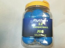 Python Blue Racquetballs (Value Pack 12 Ball Jug)