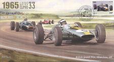 1965 lotus 33 brm P261 ferrari 158 silverstone F1 housse