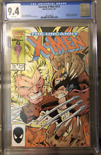 UNCANNY X-MEN #213 CGC 9.4 1st Wolverine vs Sabretooth! White Pages