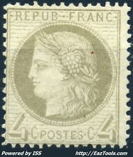 FRANCE CERES N° 52 NEUF * AVEC CHARNIERE COTE 450€