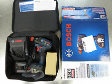 Bosch Impact Driver Kit Cordless 18 Volt Lithium-Ion 1/4 in. Hex Socket-Ready