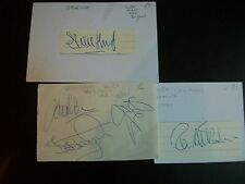 WEST BROMWICH ALBION Players BOB TAYLOR LEE HUGHES JASON ROBERTS  signed