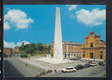 Cartolina Lugo Piazza e Monumento a Francesco Baracca HF120