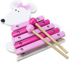 Baby-Holzspielzeug mit Musik