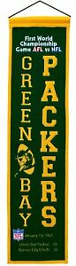 Green Bay Packers Super Bowl I Champions Heritage Banner