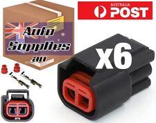 Set of 6 Ford BA-BF Coil Pack Crank Cam Connector Plug Barra Ignition Bosch EV