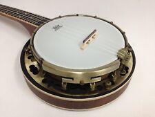 Caraya SBJUK-118 Banjo Ukulele w/Flame Maple Resonator + Soft Case