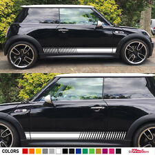 Sticker Decal Graphic Side Stripe Body Kit For Mini Cooper S Racing JCW R50 R53