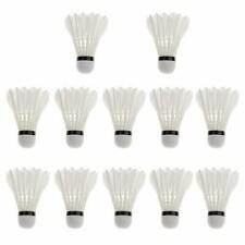 Advanced Goose Feather Badminton Shuttlecocks with Great Stability & Durability