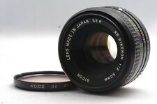 @ Japanese Summicron by Tomioka for Less! @ Ricoh XR Rikenon 50mm f2 L K-Mt Lens