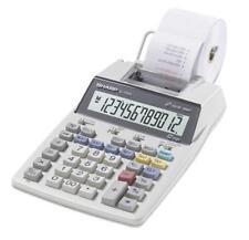 Sharp El1750V 12 Digit Printing Calculator