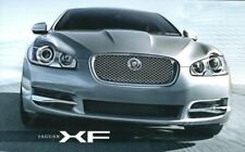 JAGUAR XF RANGE Car Sales Brochure 2008 #JLM/10/02/30/08 4.2L V8 SUPERCHARGED++