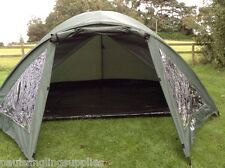 2 Man  Twin Skin Carp Fishing Bivvy Shelter With Groundsheet