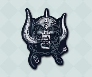 Motorhead Band Rock Metal Music Iron/Sew on Embroidered Patch - Motorhead skull