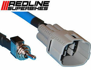 Dealer Mode Switch/Tool For Suzuki 6 Pin Connections GSXR 1000 2004 Onwards