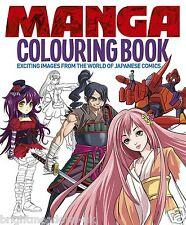 Manga Anime Adult Colouring Book Japanese Kawaii Cosplay Comics Creative Gift